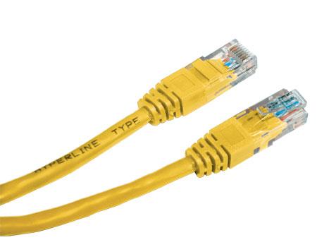 Сетевой кабель Greenconnect UTP cat.5e 24awg RJ45 0.3m Yellow GC-LNC02-0.3m все цены