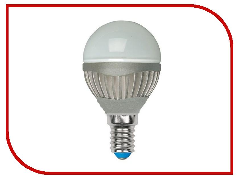 Лампочка Uniel LED-G45-4W/NW/E14/FR ALS01SL