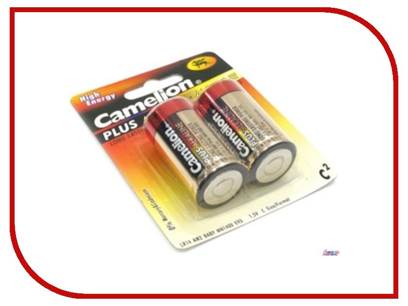 Батарейка C - Camelion LR14 Plus Alkaline BL-2 LR14-BP2 (2 штуки)<br>