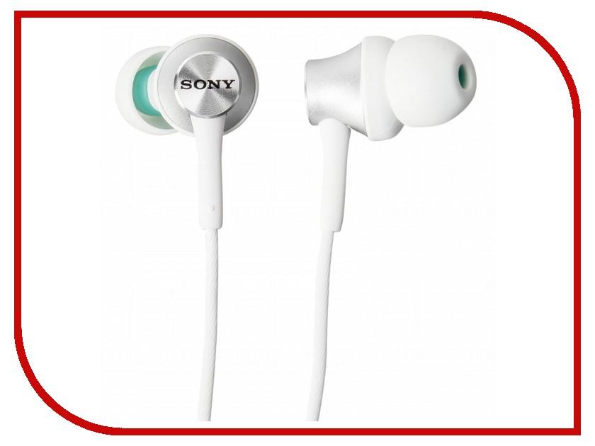 Наушники Sony MDR-EX450 White наушники sony для бассейна