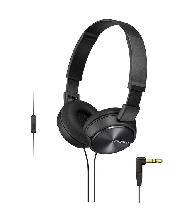 Sony MDR-ZX310AP Black цена и фото