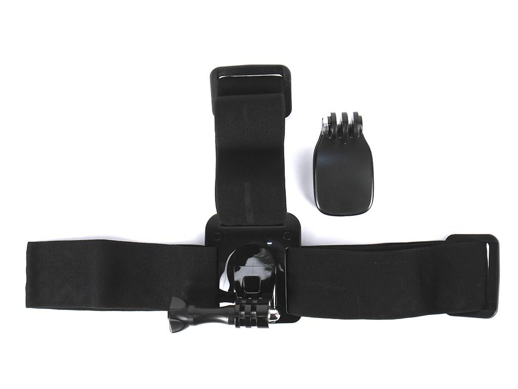 цена на Аксессуар Крепление на голову + клипса GoPro Headstrap + QuickClip ACHOM-001