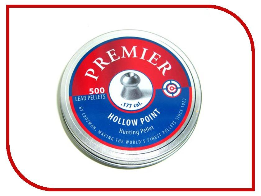 Аксессуар Пули Crosman Premier Hollow Point 4.5mm 500шт<br>