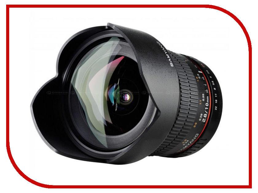 Объектив Samyang Canon M MF 10 mm F/2.8 ED AS NCS CS