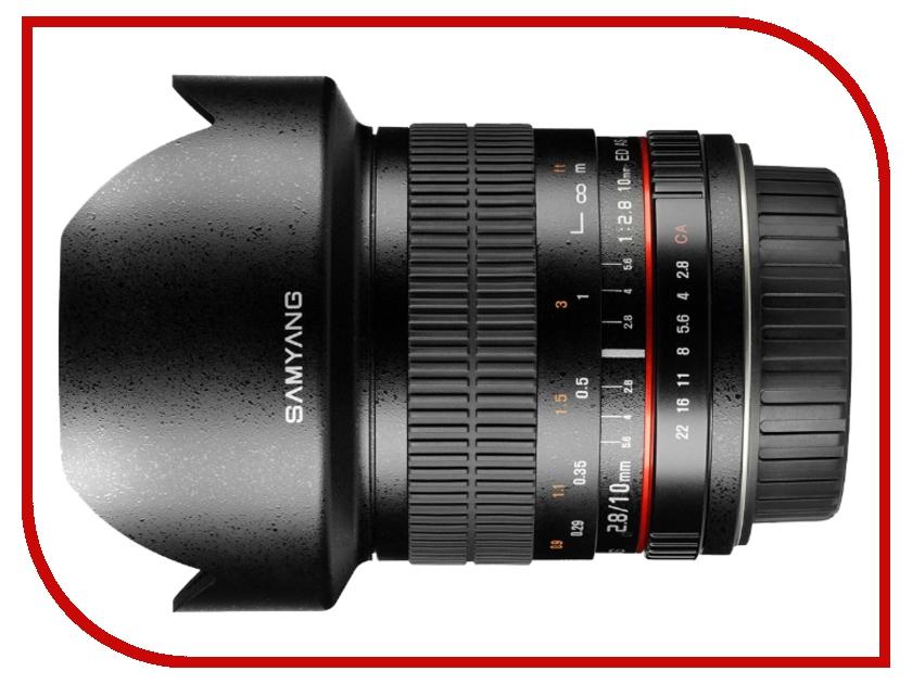 Объектив Samyang Sony E NEX MF 10 mm F/2.8 ED AS NCS CS<br>
