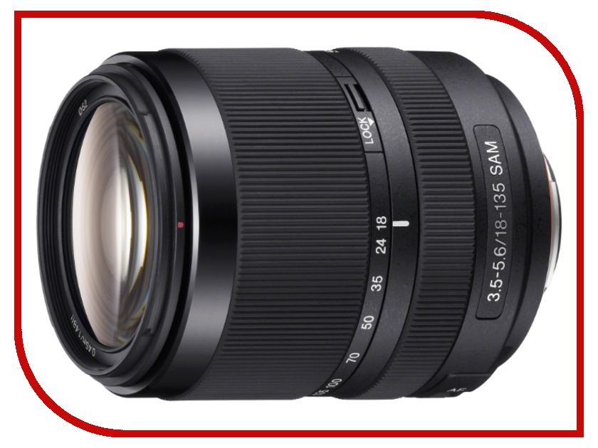 Объектив Sony DT SAL-18135 18-135mm F/3.5-5.6 SAM*<br>