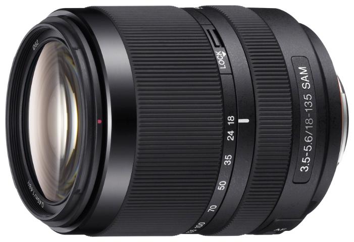 Объектив Sony DT SAL-18135 18-135mm F/3.5-5.6 SAM*<br>