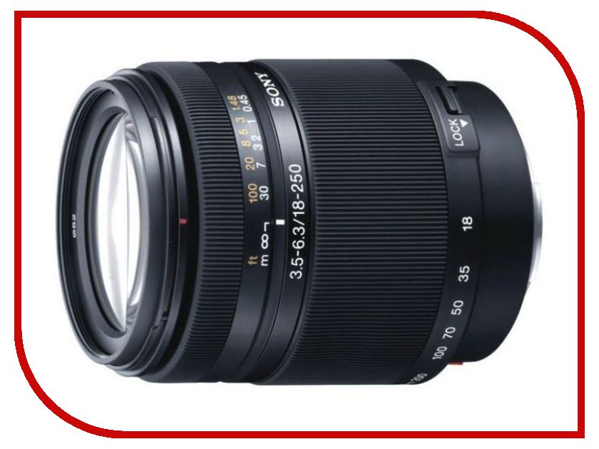 Zakazat.ru: Объектив Sony DT 18-250 mm F/3.5-6.3 SAL-18250*