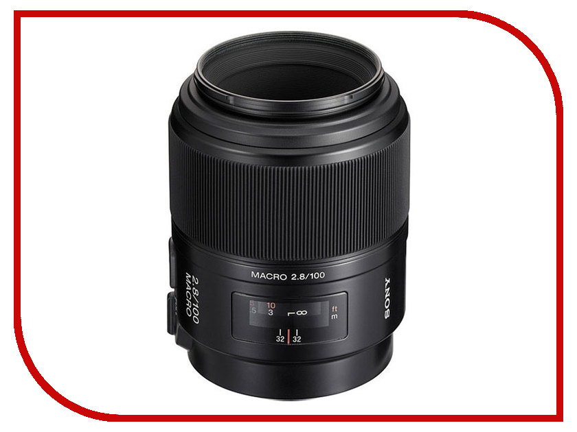 Объектив Sony SAL-100M28 100 mm F/2.8 Macro*<br>
