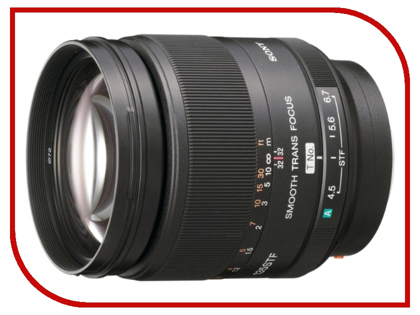 Объектив Sony SAL-135F28 135 mm F/2.8*<br>