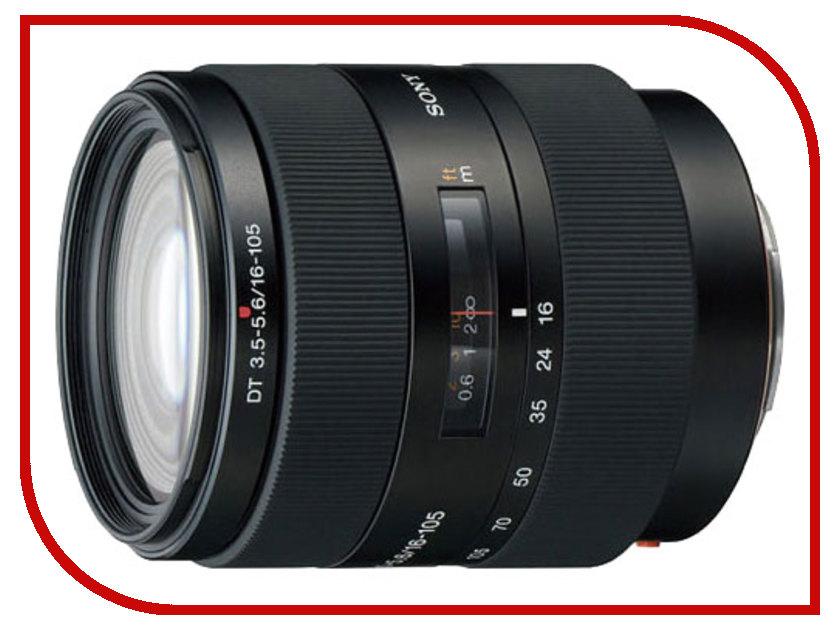 Объектив Sony DT 16-105 mm f/3.5-5.6 SAL-16105*