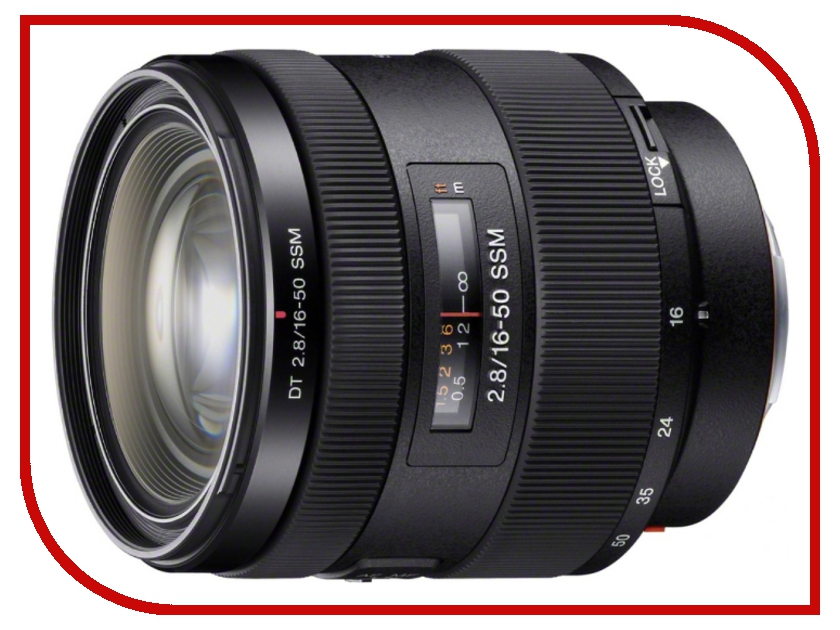 все цены на Объектив Sony DT 16-50 mm F/2.8 SSM SAL-1650* онлайн