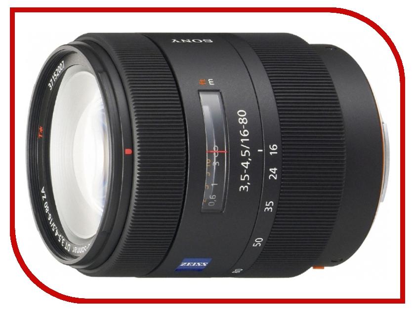 Объектив Sony Vario-Sonnar T* DT 16-80 mm F/3.5-4.5 ZA SAL-1680Z*