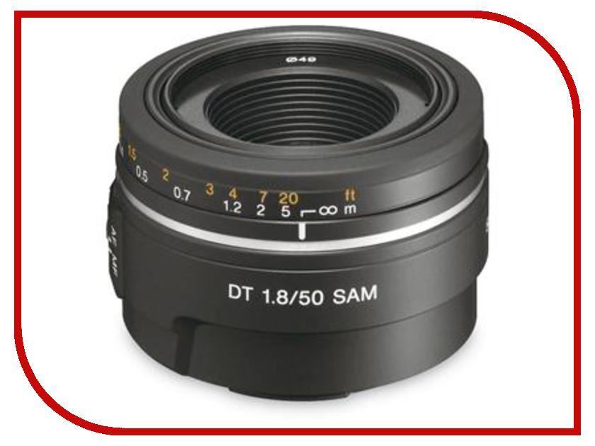 Объектив Sony DT 50 mm F/1.8 SAM SAL-50F18*