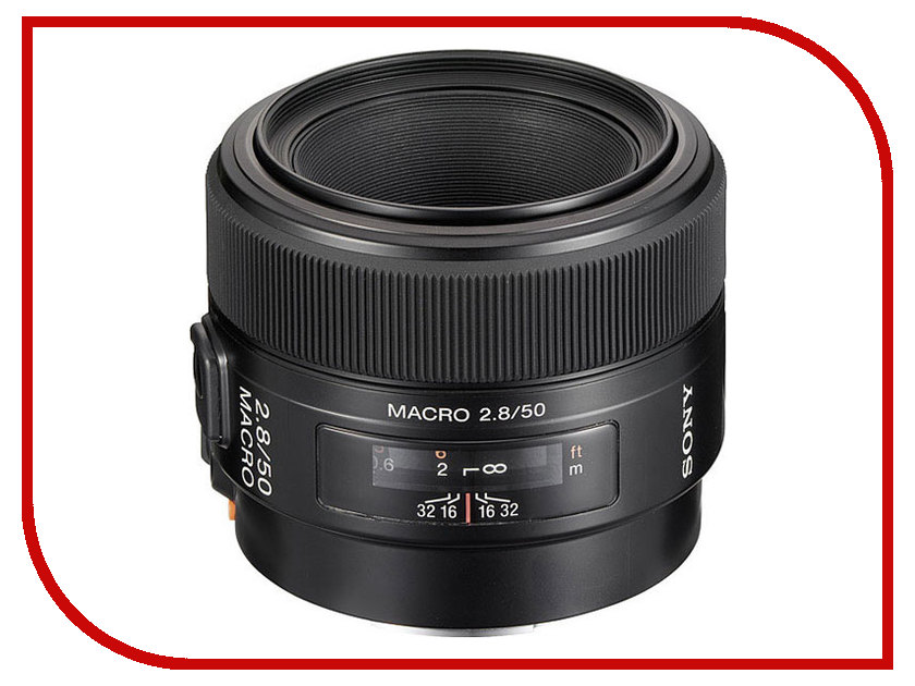 Zakazat.ru: Объектив Sony 50 mm F/2.8 Macro SAL-50M28*