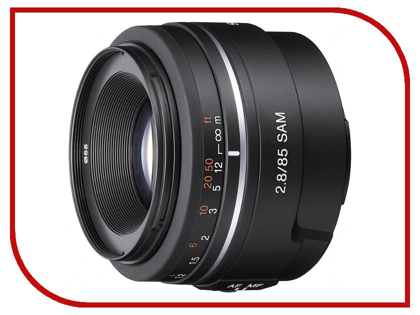Объектив Sony 85 mm F/2.8 SAM SAL-85F28*