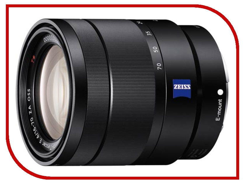 Объектив Sony SEL-1670Z Vario-Tessar E 16-70 mm F/4.0 ZA OSS T* for NEX* аквабокс meikon nex 5 для sony nex 5 kit 18 55 mm