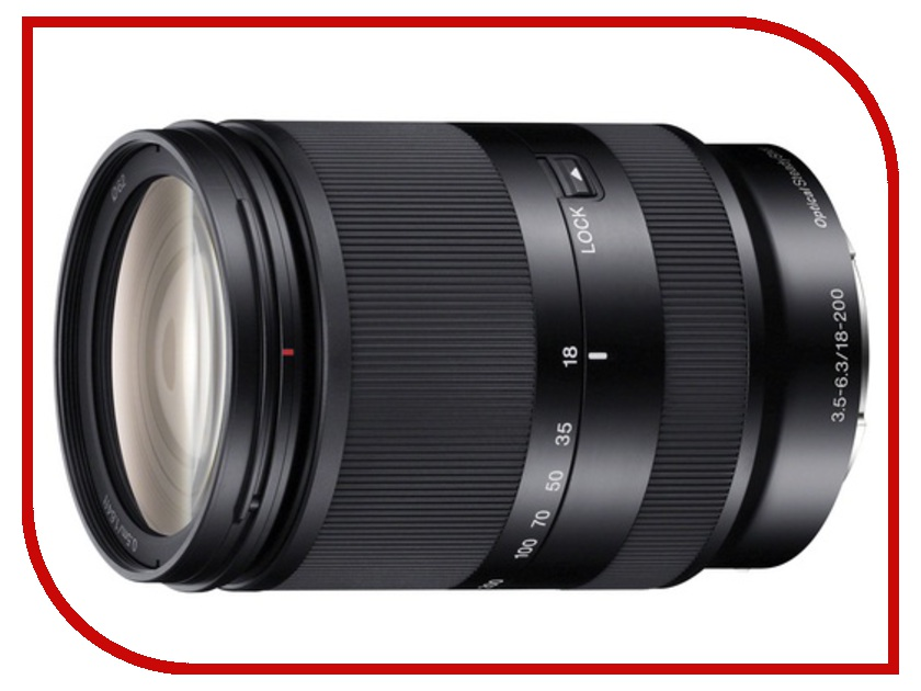 Объектив Sony SEL-18200LE 18-200 mm F/3.5-6.3 E OSS LE for NEX*