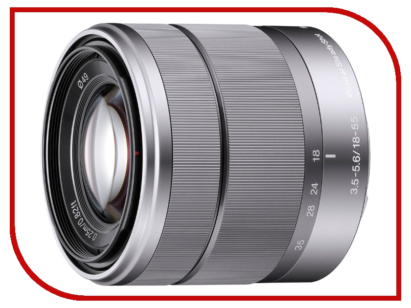 Объектив Sony SEL-1855 18-55 mm F/3.5-5.6 E OSS for NEX*<br>