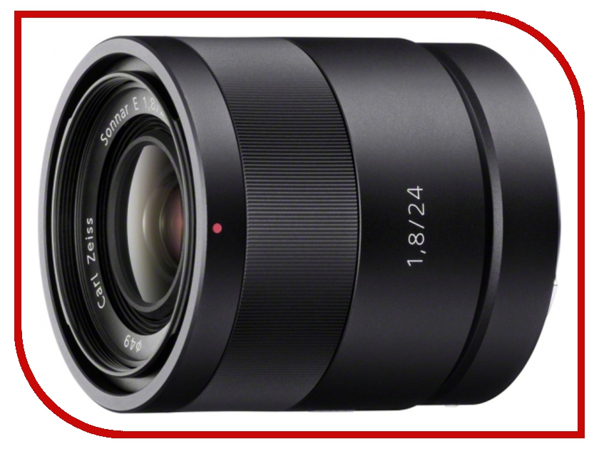 Объектив Sony SEL-24F18Z 24 mm F/1.8 ZA E for NEX* аквабокс meikon nex 5 для sony nex 5 kit 18 55 mm