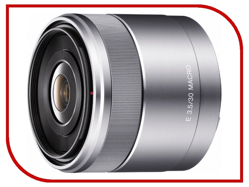 Объектив Sony SEL-30M35 30 mm F/3.5 Macro for NEX* аквабокс meikon nex 5 для sony nex 5 kit 18 55 mm