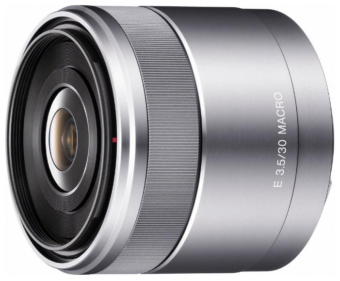Объектив Sony SEL-30M35 30 mm F/3.5 Macro for NEX цена и фото