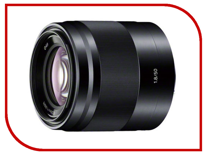 Объектив Sony SEL-50F18 50 mm F/1.8 OSS E for NEX Black