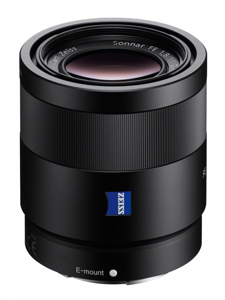 лучшая цена Объектив Sony SEL-55F18Z FE 55 mm f/1.8 ZA for NEX