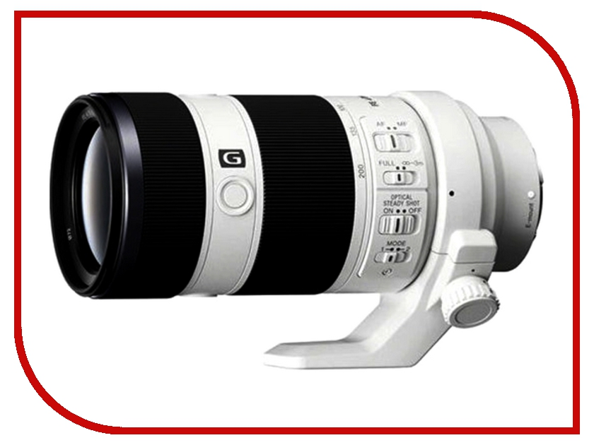 Объектив Sony SEL-70200G FE 70-200 mm F/4.0 G OSS for NEX* объектив sony sel1224g fe 12 24 mm f 4 g