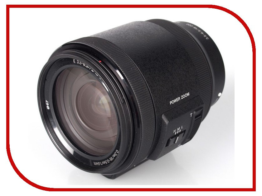 Объектив Sony 18-200mm f/3.5-6.3 E PZ OSS for NEX (SEL-P18200)