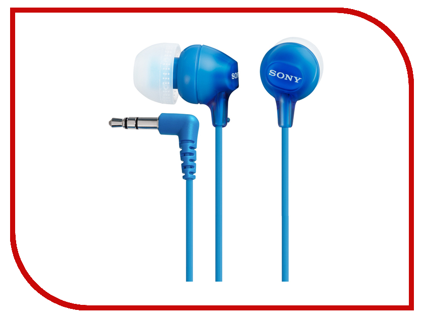 Наушники Sony MDR-EX15LP/L Blue<br>