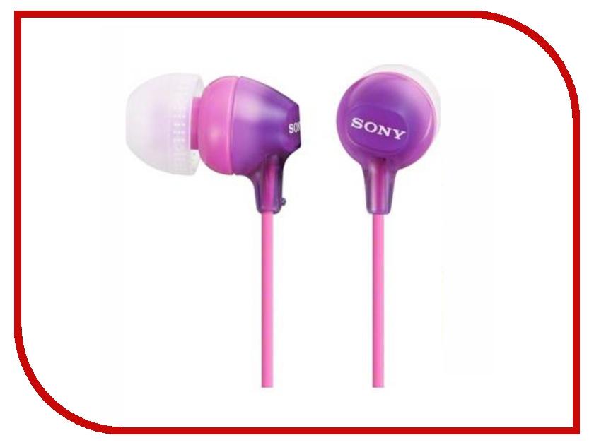 Наушники Sony MDR-EX15LP/V Violet<br>