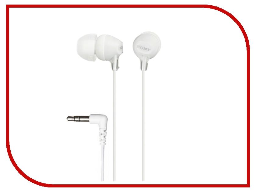 Наушники Sony MDR-EX15LP White<br>