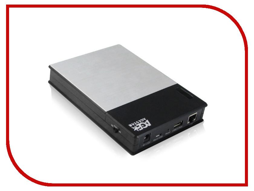 Аксессуар AgeStar WNST7 USB 2.0 Wi-Fi SATA HDD<br>