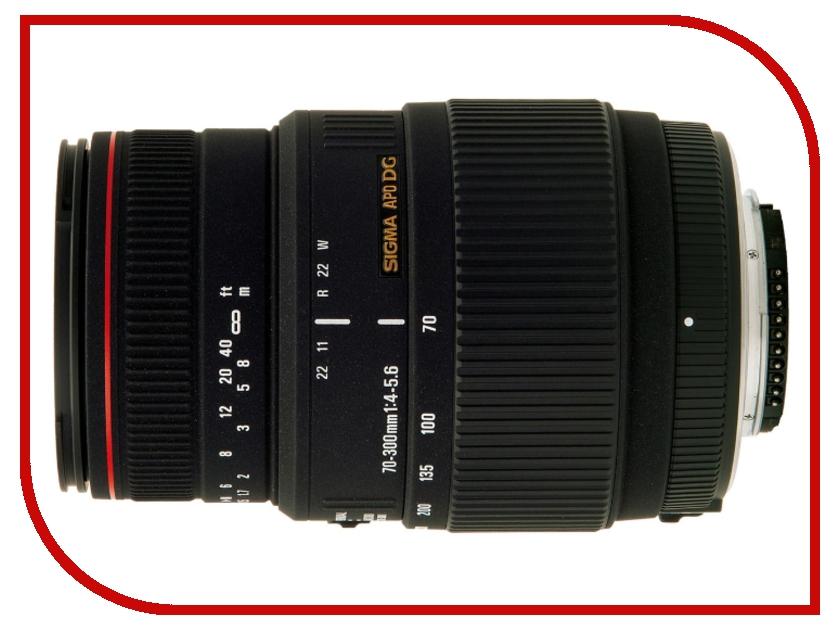 Объектив Sigma Canon AF 70-300 mm F/4-5.6 APO DG Macro