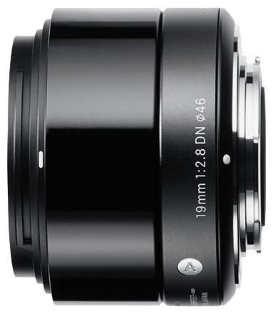 Объектив Sigma AF 19 mm F/2.8 DN A for NEX Black