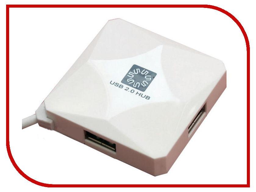 ��� USB 5bites HB24-202WH USB 4 ports White