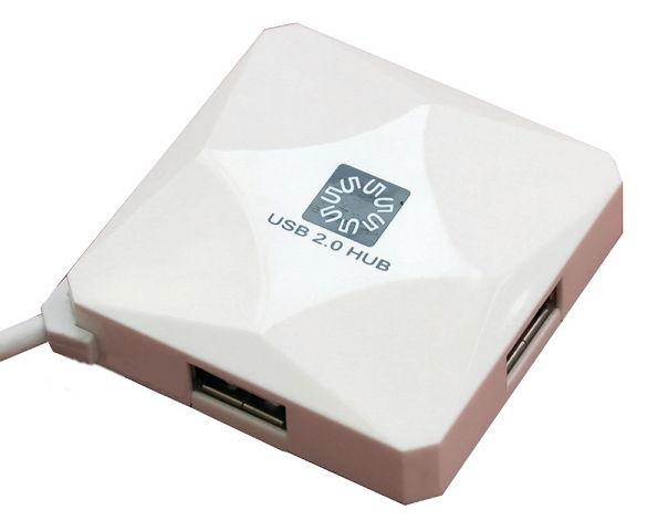 Хаб USB 5bites HB24-202WH 4 ports White
