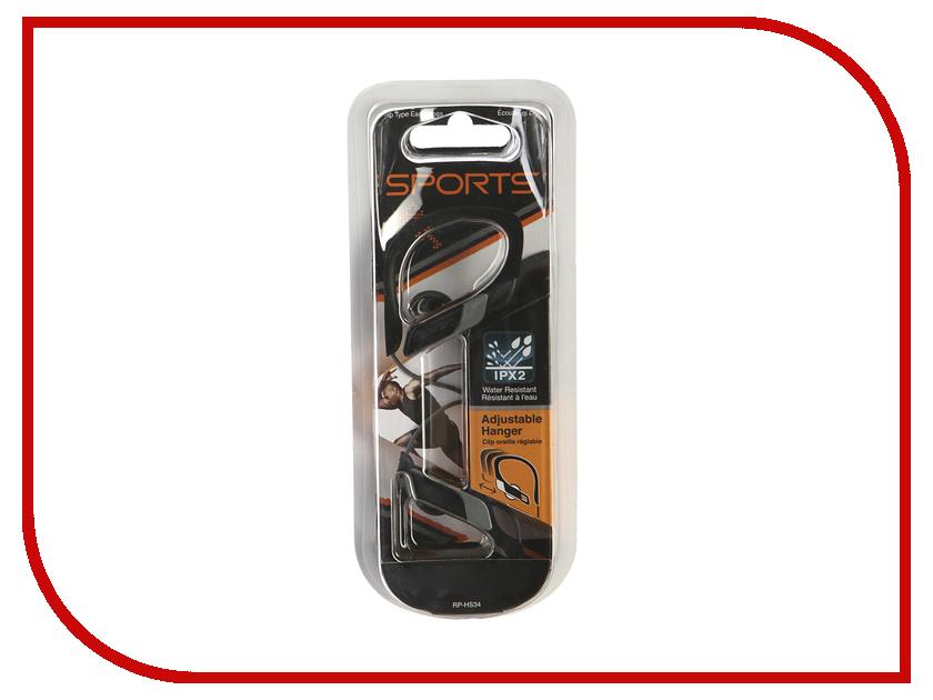 Panasonic RP-HS34 E-K Black гарнитура panasonic rp ht161 e k