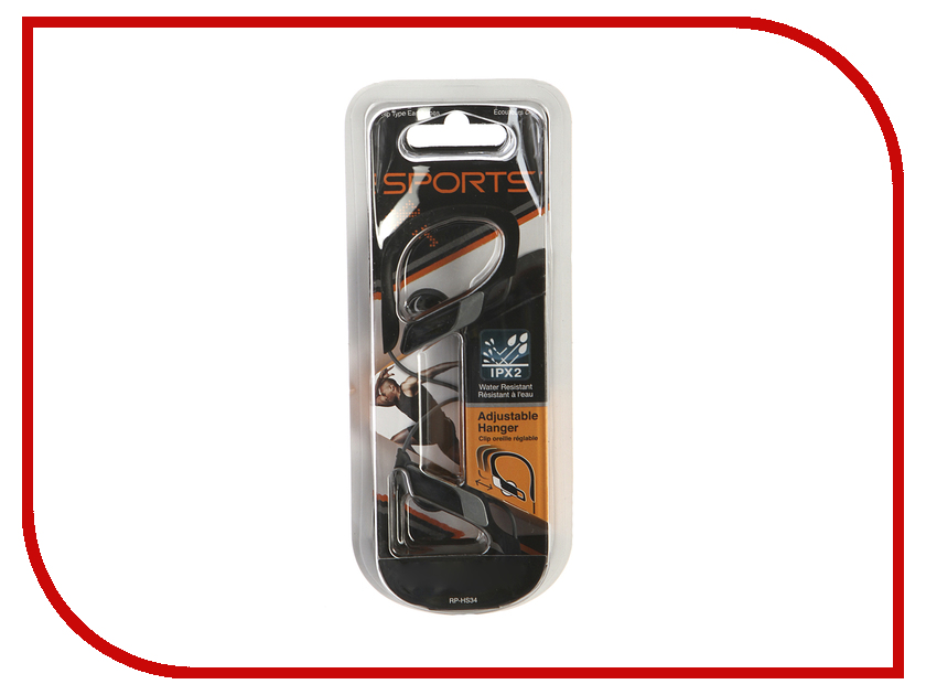 Наушники Panasonic RP-HS34 E-K Black<br>