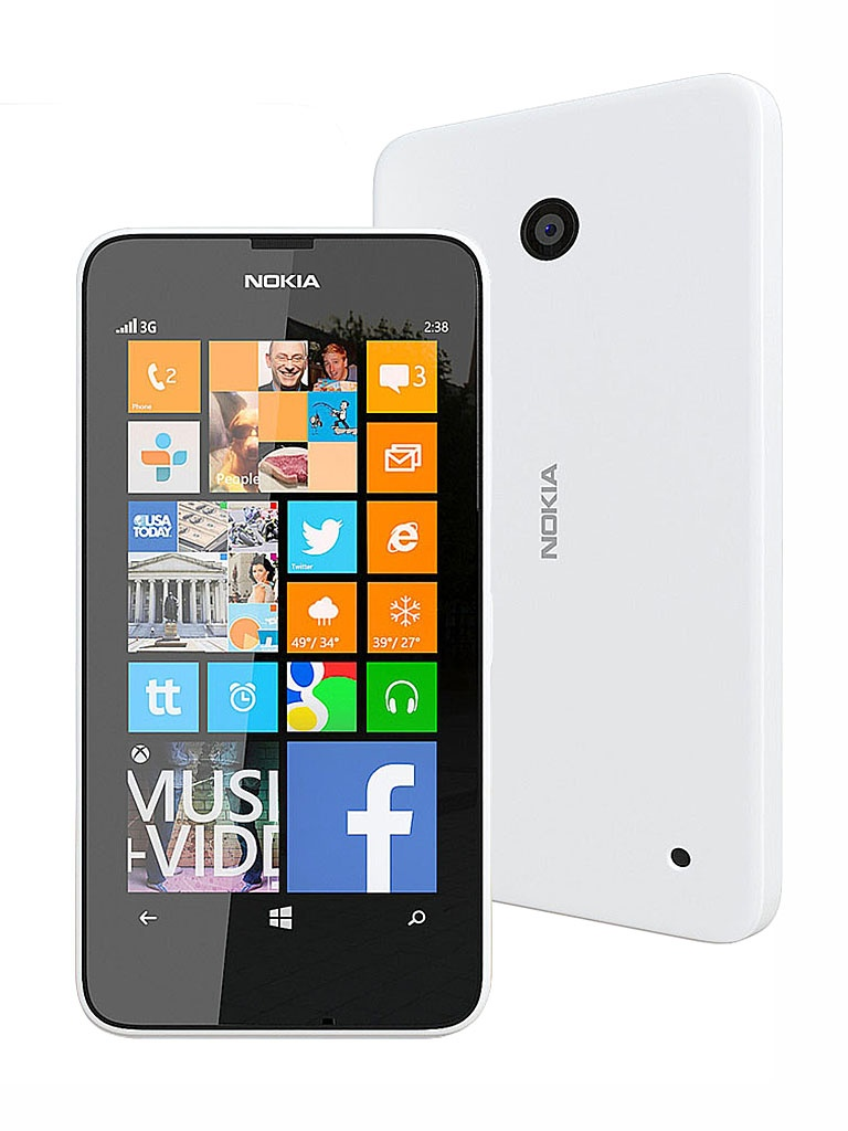 Сотовый телефон Nokia 630 Lumia Dual SIM White