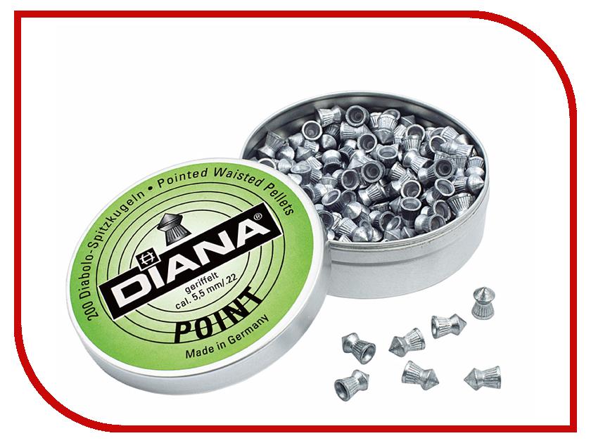 Аксессуар Пули Diana Point 4.5mm 500шт