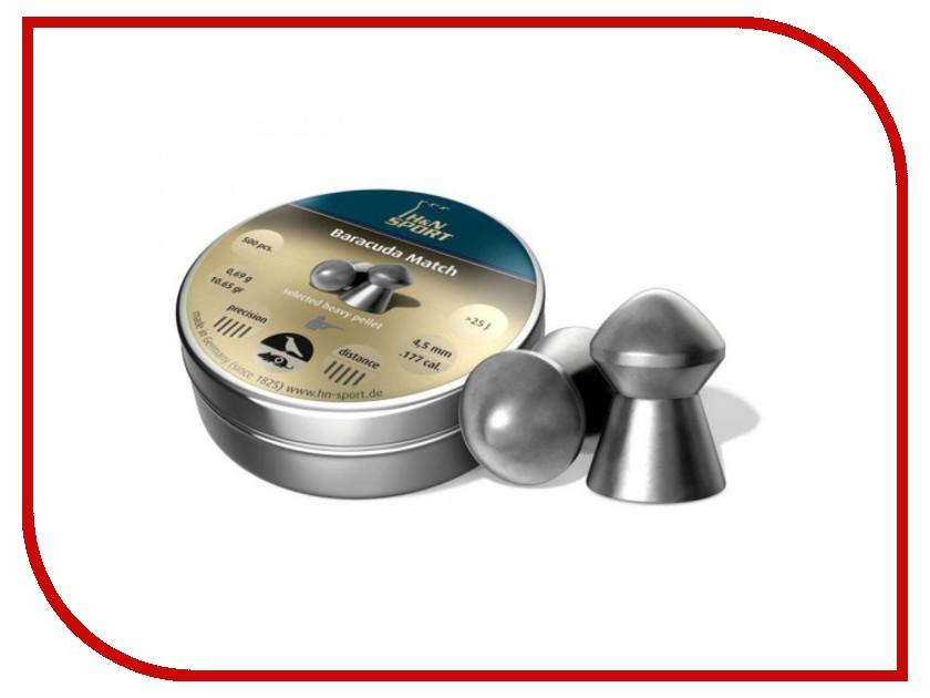 Аксессуар Пули H&N Baracuda Match 4.5mm 500шт PB394 92284500005