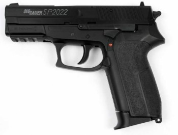 Пистолет CyberGun Sig Sauer 2022 Black Металл 288012<br>