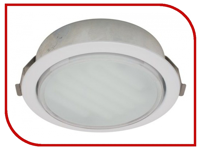Светильник Ecola GX53 DL 220V White FW53DLECC<br>