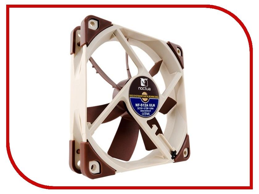 вентиляторы для корпуса NF-S12A ULN  Вентилятор Noctua NF-S12A ULN 120mm 800rpm