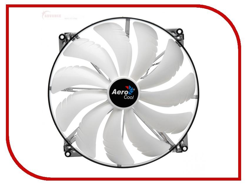 Вентилятор AeroCool Silent Master White LED 200mm EN55666