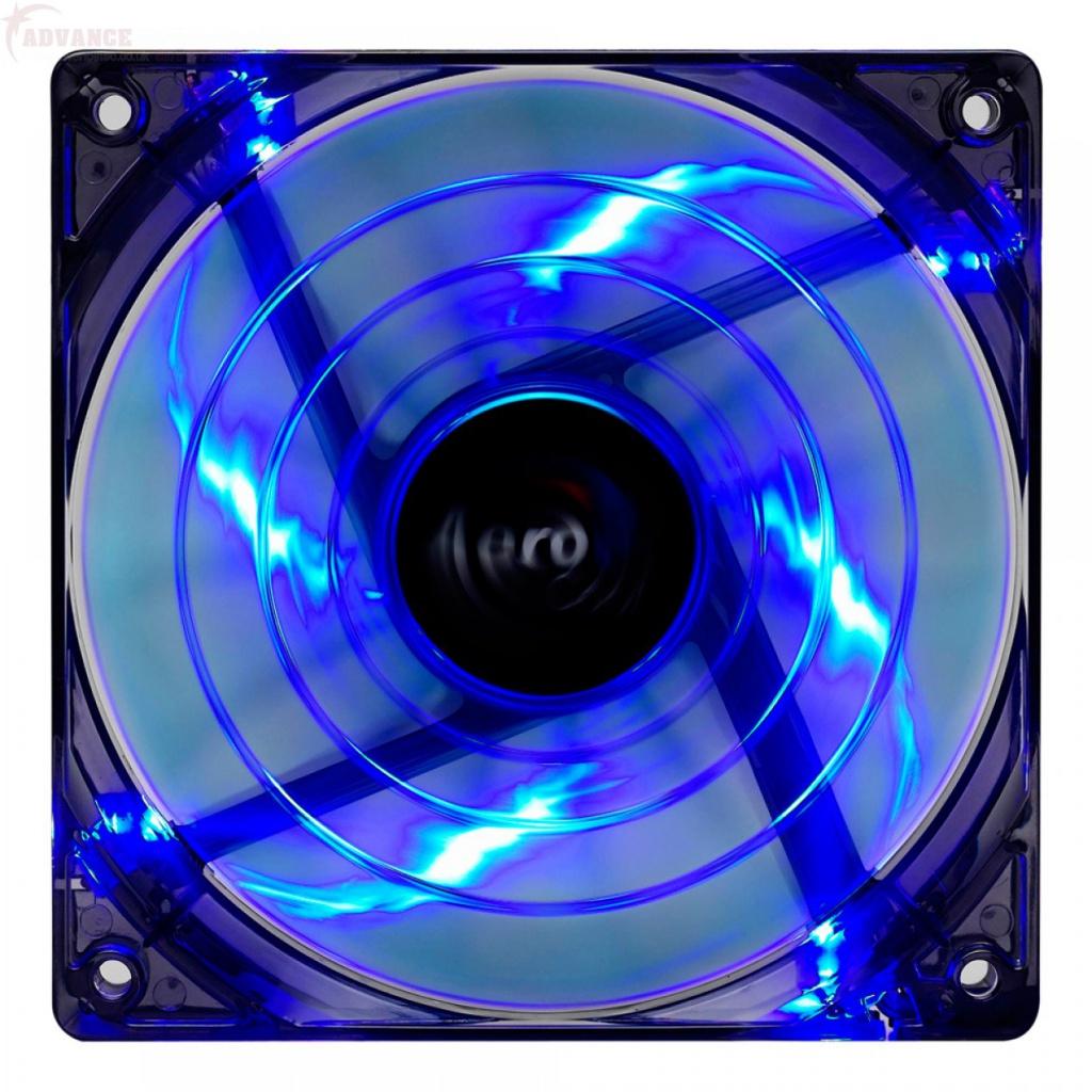 Вентилятор AeroCool Shark Fan Blue Edition 140mm EN55468