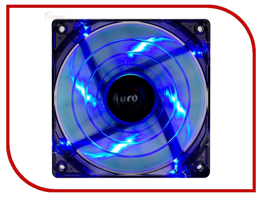 Вентилятор AeroCool Shark Fan Blue Edition 120mm EN55420