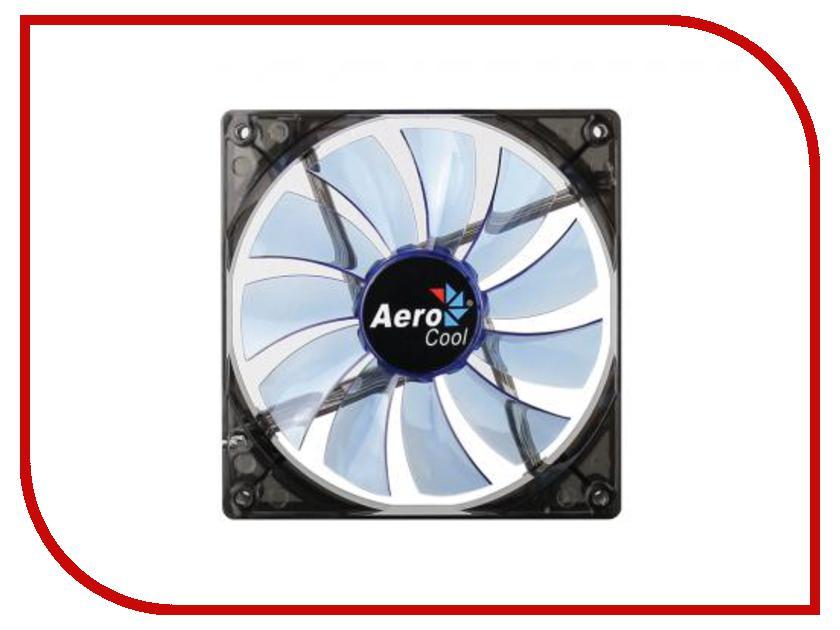 Вентилятор AeroCool Lightning 140mm Blue Edition